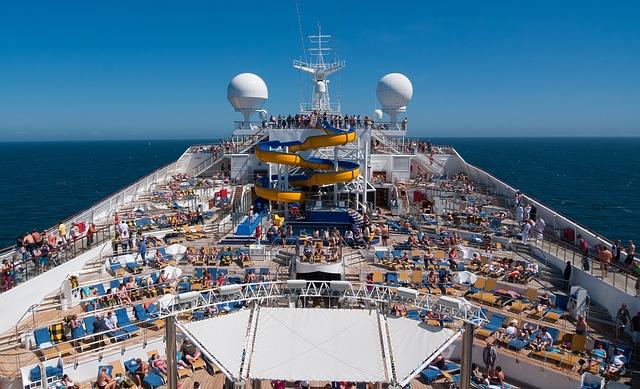 loisirs sur un bateau de croisiere